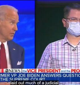 WATCH: Joe Biden blasts Trump, Coney Barrett; vows to protect LGBTQ people
