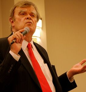 "Disgraced radio host Garrison Keillor says states should be allowed to ""criminalize LBGTQ"""