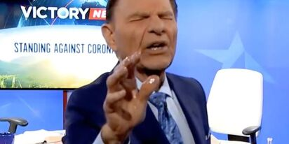 "Televangelist says Christians have ""holy spirit immunity"" to COVID like Donald Trump"