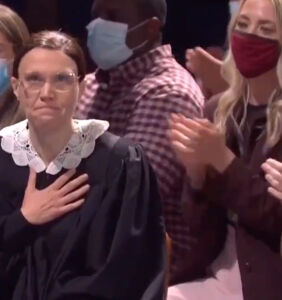 Kate McKinnon bids farewell to Ruth Bader Ginsberg, and we're verklempt
