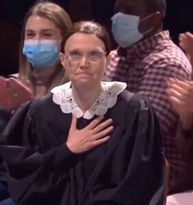 Kate McKinnon bids farewell to Ruth Bader Ginsberg, and we're verklempt