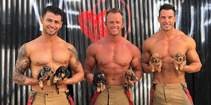 PHOTOS: Cozy up to the 2021 Australian Firefighters calendar
