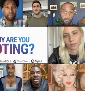 BenDeLaCreme, Brooke Lynn Hytes, Nico Tortorella, Ryan Russell & more get out the VOTE!