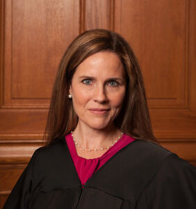 Amy Coney Barrett says she didn't know one of the most homophobic groups in the world was homophobic
