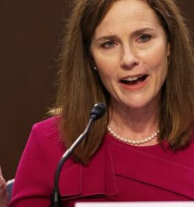 "Amy Coney Barrett refuses to answer questions about same-sex marriage, says ""I can't, and I'm sorry"""