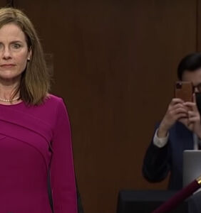 Oh great: Amy Coney Barrett gets her first opportunity to impact queer rights this week