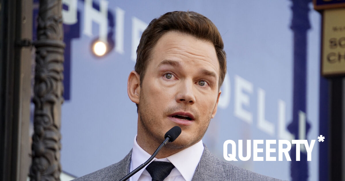 It's an absolutely terrible day if your name is Chris Pratt and you belong to a homophobic church