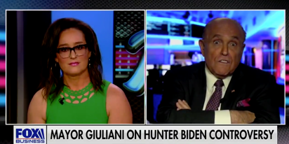 Rudy Giuliani loses his sh*t when a FOX anchor dares to question him on reality