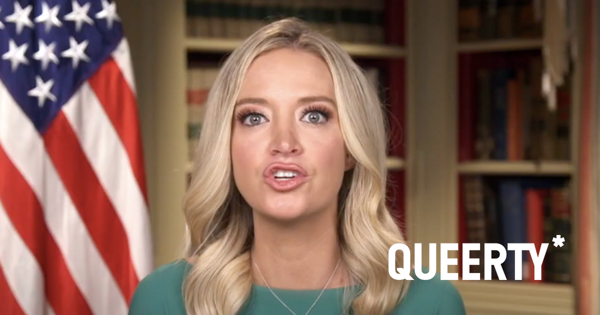 """Kayleigh McEnany is being dragged for swearing on Jesus that she """"never lied"""" as press secretary"""