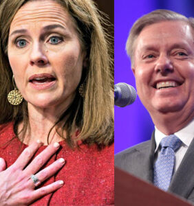 Lindsey Graham and Amy Coney Barrett hint that marriage equality could lead to polygamy