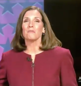 WATCH: Republican senator squirms in debate to avoid saying she's proud to support Trump