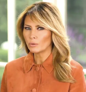 Melania won't say where she spent Thanksgiving, noticeably absent from family holiday photos