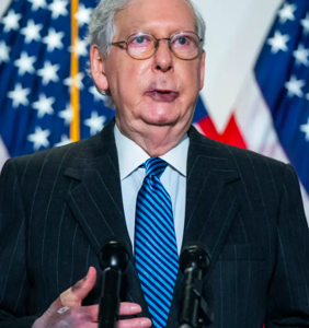 Mitch McConnell doesn't want to talk about his gangrened zombie hands, insists he's toooootally fine