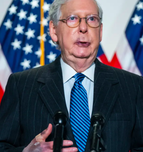 "Literally everyone hates ""dour, sullen, unsmiling political hack"" Mitch McConnell right now"