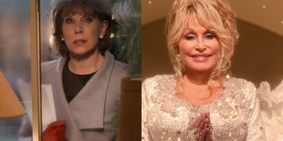 Christine Baranski & Dolly Parton joined us for a chat. We're on diva overload.