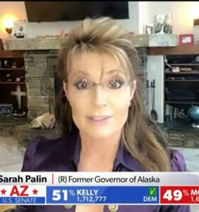 """Sarah Palin, who's had the same haircut for 20 years, accuses Obama of being """"so still 2008"""""""