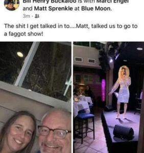 Firefighter suspended for posting anti-gay slurs to social media…at a drag show