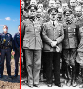 Ivanka goes full-on fascist in potentially illegal photo with cops because of course she did