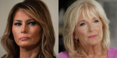 Melania won't meet Dr. Jill Biden for tea, won't even talk to her on the phone