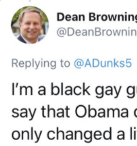 Meet Dean Browning, the politician busted for likely posing as gay, Black, Trump-lover on Twitter