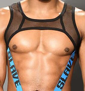 """Andrew Christian in hot water for using person of color to advertise """"slave harness"""""""