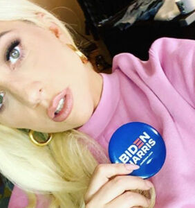 Gaga wows at Biden rally, blasts Trump for abusing his fame to grab women