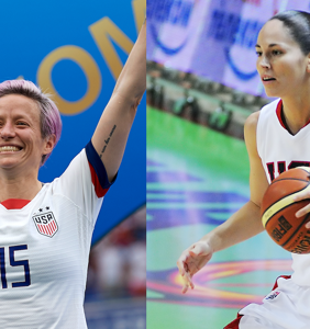 PHOTO: Sports stars Megan Rapinoe and Sue Bird's engagement post melts hearts