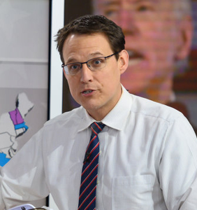 """""""Map Daddy"""" Steve Kornacki named one of 'People' magazine's sexiest men alive"""