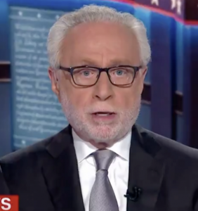 CNN viewers already have a lot to say about Wolf Blitzer's manic election night performance