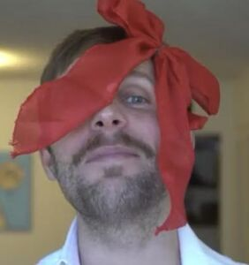 VIDEO: Tom Goss gives new meaning to masking in adorable new Christmas ditty