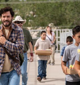 Juan Pablo Espinosa on playing romantic leads and a straight dad in 'Half Brothers'