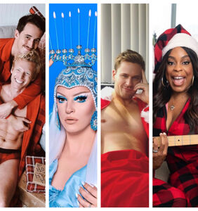 Sleighing the season, the best of Queerty's Instagram in December