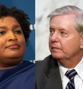 """Lindsey Graham calls Stacey Abrams a """"con"""" for simply being good at her damn job"""