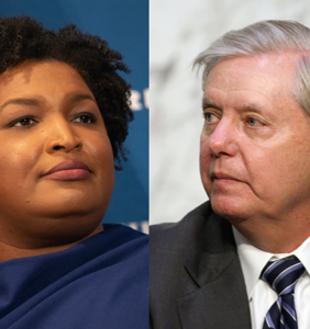 "Lindsey Graham calls Stacey Abrams a ""con"" for simply being good at her damn job"