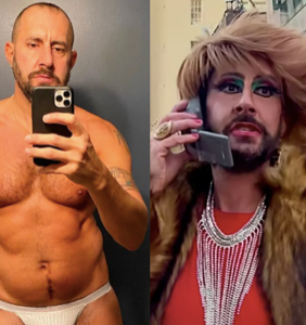 "WATCH: This DILF transforms into a drag queen to call 2020 and tell her ""She's Canceled"""