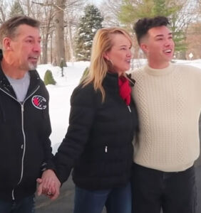 James Charles pays off his parents' mortgage and filmed their reaction