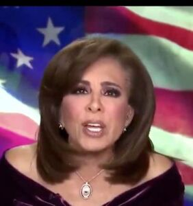 Jeanine Pirro, possibly drunk, has weird on-air freakout calling William Barr a reptile