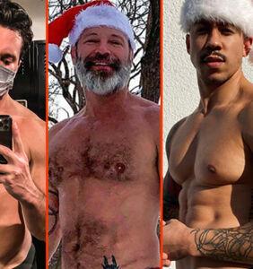 John Stamos' beach bod, Jim Newman's cold front, & David Beckham's dip