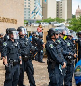 """Texas cop slapped with suspension for calling protester """"that gay dude"""""""