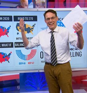 Twitter all twitterpated over the return of Steve Kornacki and his board