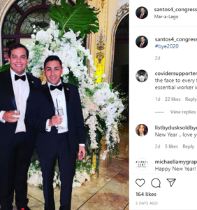 "Log Cabin lackey posts pics from Mar-A-Lago maskless party then whines he & fiancé were ""exposed"""