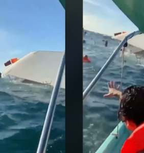 "Jeffrey Sanker's ""superspreader"" party cruise sinks ""like the Titanic"" after backlash"