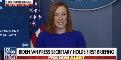 New WH press secretary Jen Psaki gave a not crazy press briefing and suddenly everyone's in love