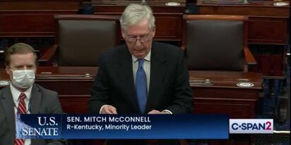 "Mitch McConnell can't bring himself to say ""Minority Leader"" so he's calling himself something else"