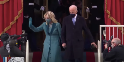 Everyone is crushing on Jill Biden today