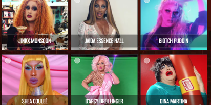 "The Queerties are on! Vote now for ""Drag Royalty"""