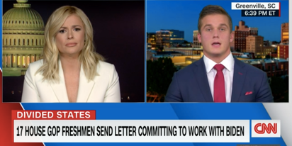Madison Cawthorn chokes on live TV when asked for evidence of voter fraud, admits he has none