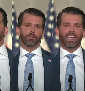 Don Jr. wasted absolutely no time b*tching about his dad's Twitter ban…on Twitter