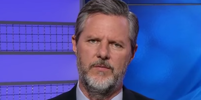Jerry Falwell Jr. suddenly against slut shaming, says he and his wife's sex life is nobody's business