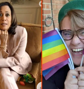 Kamala Harris' shady snacks & a brand new pride flag for the anti-gay neighbors